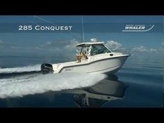 The thoughtfully appointed 285 Conquest offers premium comfort and features that cater to a variety of #boating activities, including active day cruises, fishing runs and overnighting. Take a closer look in this video!
