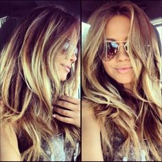 So beautiful hair. Wish I could pull this off