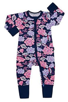 Bonds Baby Long Sleeve Stretchies Balletsuit sizes 1 2 Colour Desert Floral