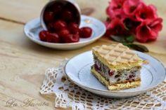 Reteta culinara Prajitura Rumba din categoria Prajituri. Specific Romania. Cum sa faci Prajitura Rumba Waffles, Cooking Recipes, Sweets, Breakfast, Cakes, Morning Coffee, Gummi Candy, Cake Makers, Chef Recipes