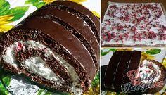 Kinder Pingui ve tvaru rolády   NejRecept.cz Toblerone, Meatloaf, Nutella, Tiramisu, Cake Decorating, Cherry, Food And Drink, Cooking Recipes, Baking