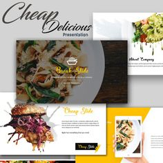Pizza Ppt Template  Food Ppt Templates    Ppt Template
