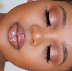 black womens makeup kits all in one Makeup Advertisement, Makeup Ads, Nude Makeup, Makeup Inspo, Makeup Inspiration, Sexy Makeup, Glam Makeup, Makeup Geek, Formal Makeup