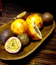 How to make passionfruit syrup...