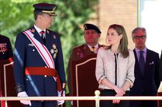 Spanish Royals at an Air Force Academy Ceremony
