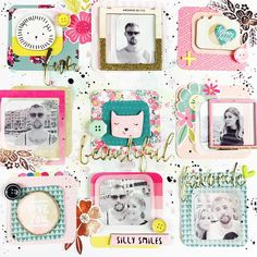 "83 Likes, 5 Comments - Lisa Fonseca (@lisafonseca1985) on Instagram: ""Layout for @moriony's challenge on the @hipkitclub member forum 💕🌟💜 . . . #scrappy #scrapbook…"""