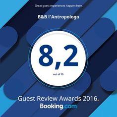 B&B l'Antropologo · Booking.com Guest Review Awards