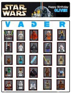 Welcome to Crazy Town: Star Wars Bingo
