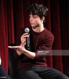 Actor Lucas Jade Zumann attends The Academy of Motion Picture Arts and Sciences Hosts an Official Academy Screening of 20TH CENTURY WOMEN at MOMA - Celeste Bartos Theater on December 4, 2016 in New York City.