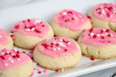 Melt-Away Vanilla Frosted Cookies