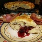 """""""World's Best Scones"""" - recipe adapted from the Savoy hotel in London. Scottish Scone Recipe, Best Scone Recipe, Scottish Recipes, Tofu Recipes, Mexican Food Recipes, Cooking Recipes, Recipies, Sour Cream Scones, English Food"""