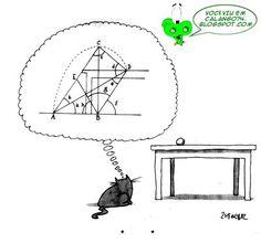 Por isso os gatos conseguem saltar tão bem... É pura matemática!