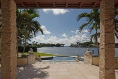 400 Arvida Parkway #chateau #luxury #bay #view #waterfront #miami #pool #lagoon setting
