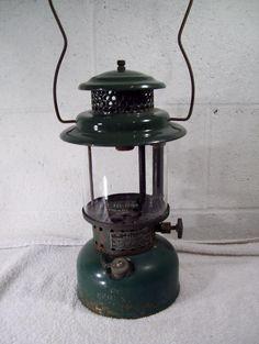 Vintage AGM American 3470 Military Mil Spec Kerosene Coleman Lantern #AmericanGasMachine