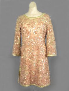 1967 Pierre Balmain bejeweled tunic