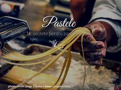 Paste - 10 secrete pentru a gati paste perfecte - Casuta Laurei Linguine, Easy Peasy, Stay Fit, Romania, Recipe Ideas, Lose Weight, Healthy Recipes, Canning, Top