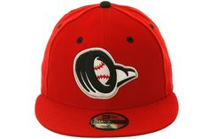 8d782b3ab83 The Clink Room 5950 Bowling Green Hot Rods Fitted Hat by New Era - Red
