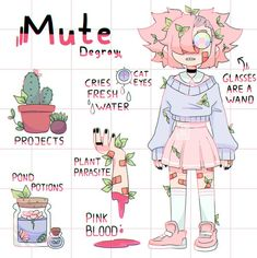 witch_ by mutatedeye on DeviantArt Art Style Challenge, Drawing Challenge, Arte Do Kawaii, Kawaii Art, Cute Art Styles, Cartoon Art Styles, Art Drawings Sketches, Cute Drawings, Anime Girl Drawings