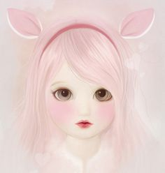 Love them creepy eyes - TokyoBunnie: Art and Ghosts