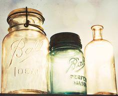 Mason Jar, Ball, vintage