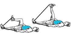 exercice avec bande elastique de fitness pour maigrir des cuisses