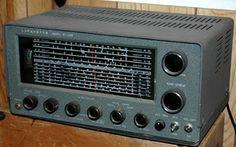 Lafayette KT-320 General Coverage Receiver. Ham Radio Operator, Antique Radio, Radios, Technology, Electronics, Retro, Tv, Ham Radio, Tech