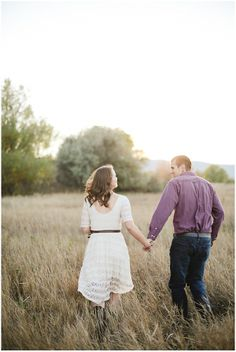 Sweet Outdoor Engagement Session | Connie Dai Photography