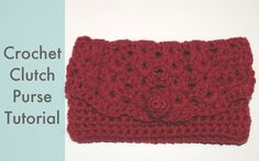 Amy's Crochet Creative Creations: Crochet Clutch Purse
