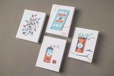 The Beauty of Letterpress: Everlovin' Christmas Cards