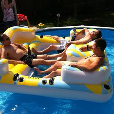 Awesome pool float