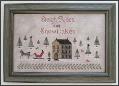 """The Scarlett House - """"Sleigh Rides and Snowflakes"""""""