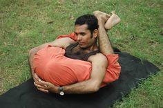 this is Garbha Pindasana. Ultimately good for ur spine and activates Mooladhara chakra.