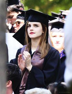 Emma Watson graduates from Brown University  - 25 May 2014