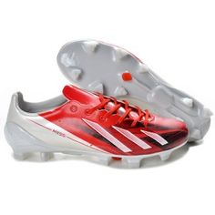 the latest dde31 439b7 Adidas Adizero F50 Messi TRX FG cuir rouge vin blanc en cristal Cheap  Football Boots,