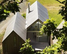RRA's Micro Cluster Cabins Give Traditional Pitched Roofs a Mo...