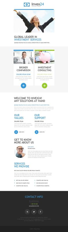 Newsletter Templates, Free Email Templates CakeMail Email - business newsletter templates free