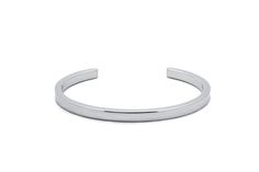 DAMUE Flat Bangle [Silver]