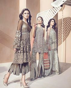 Latest peplum with flared culottes for Pakistani wedding brides Pakistani Wedding Outfits, Pakistani Dresses, Indian Dresses, Indian Outfits, Pakistani Clothing, Mehndi, Henna, Pakistani Couture, Pakistani Bridal