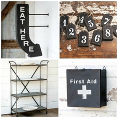 Crushing on Industrial Farmhouse  Middleton Mercantile / Farmhouse Favorites