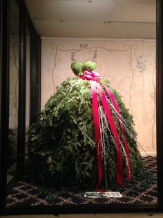 Check out our fabulous Christmas tree wedding gown