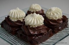 Fondant, Cacao Beans, Food Cakes, Cake Recipes, Muffin, Keto, Sweets, Urban, Cooking