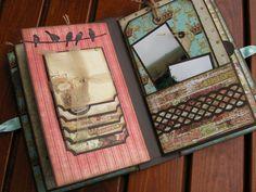 Mini-album, cute embellishments