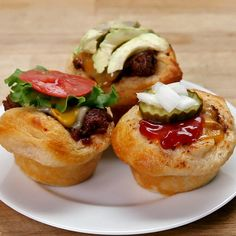 Hamburger Cups | These Cute Hamburger Cups Are To Die For And Will Be A Total Hit Among Everyone