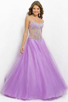 2014 Smart Sweetheart Beaded Bodice Ball Gown Floor Length With Tulle Skirt