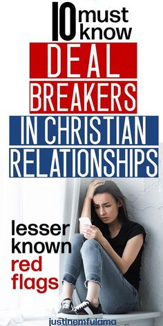 Here is a detailed list of 10 relationship deal breakers in Christian relationships. Important red flags to look out for in Christian dating. Christian Relationships, Toxic Relationships, Healthy Relationships, Christian Dating, Christian Women, Conversation Starters For Couples, How To Be Single, Single Life, Broken Trust