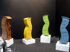 "If It's Hip, It's Here: Judson Beaumont's ""Cartoon"" Furniture. Furniture Filled With Whimsy & Straightline Designs.  Real dressers"