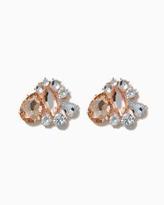 charming charlie | Luster Cluster Earrings | UPC: 410007154482 #charmingcharlie