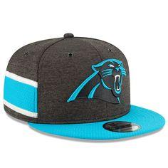 b00bf8fed1484d Men's Carolina Panthers New Era Black/Blue 2018 NFL Sideline Home Official  9FIFTY Snapback Adjustable
