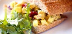 Curried Chicken Salad Sandwich |