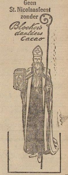 BLOOKER'S advertentie 1921